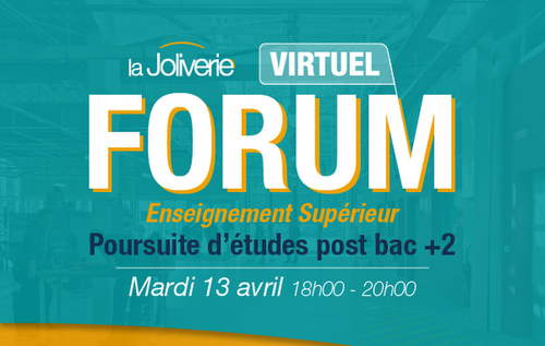 Forum virtuel poursuite d'études post Bac+2