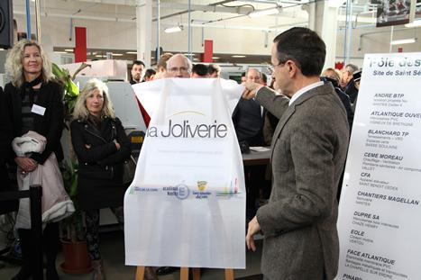 Inauguration Pole process_B. Retailleau